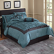 21-Piece Reggio Complete Jacquard Bed Set