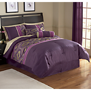 12-Piece Noah Pieced Bed Set and Window Treatments
