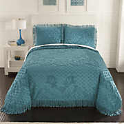 Jacqueline Chenille Bedspread and Sham