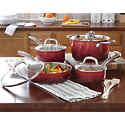ingrid hoffman s 8 pc gradient gourmet cookware set