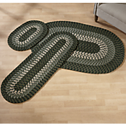 Alpine Braided 3 Piece Rug Set