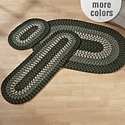 alpine braided rug