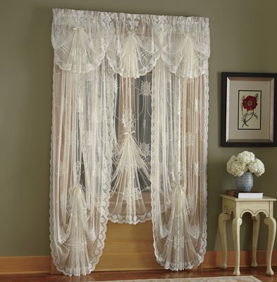 Queen Annes Lace Window Treatments From Seventh Avenue