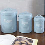 set of 3 retro canisters