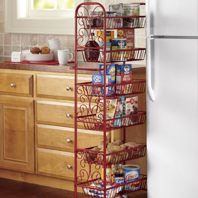Scroll Thin Rolling Pantry
