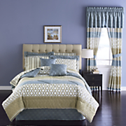 10-pc. Calistoga Complete Bed Set and Window Treatments