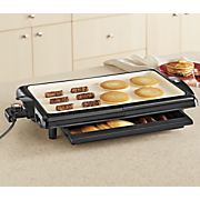 Chef Tested ® Griddle with Warming Drawer by Montgomery Ward ®
