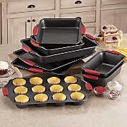 chef tested 8 pc nonstick bakeware set by montgomery ward
