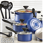 14-Piece Aluminum Farberware Cookware Set