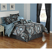 Adria Turnstyle Complete Bed Set, Decorative Pillows and Window Treatments