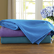 comfort creek microfiber blanket by montgomery ward