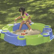 2 in 1 sand n water play set