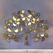 Burnished Tree Art