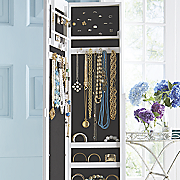 jewelry armoire mirror