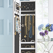 jewelry armoire mirror