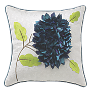 bloom jacquard accent pillow