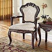 Hand-Carved Arm Chair