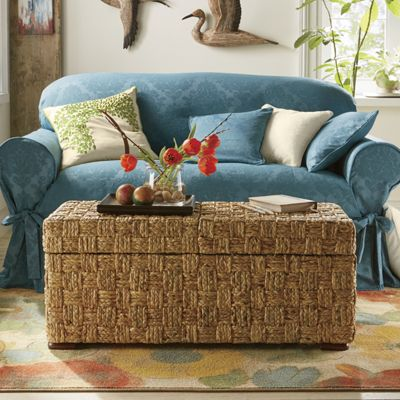 Brocade Slipcovers, Pillow Inserts and Pillow Cover