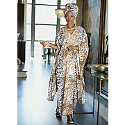 Gaia Headwrap and Caftan Dress