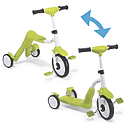 2 in 1 tricycle scooter