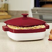 nesting ceramic covered casserole by kitchenaid