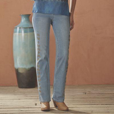 Bronze Studded Jean