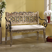 mayfield upholstered bench