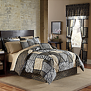 Zanzibar Complete Bed Set and Window Treatments