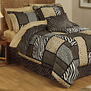 Zanzibar Bedding Set and Window Treatments
