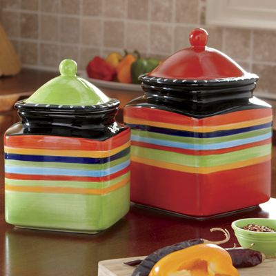 3-Piece Pueblo Springs Canister Set