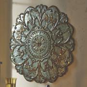 medallion wall art 24