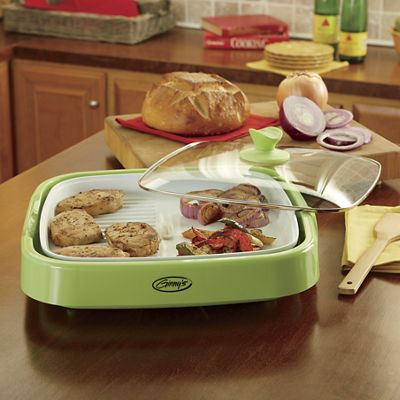 Ginny's Brand Square Electric Grill/Griddle