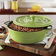 crockpot 3qt rd ceramic casserole