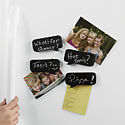s 4 chalkboard comment fridge magnets