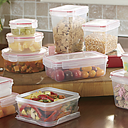 24pc lock seal containers