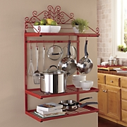 Wall Pot & Plate Rack