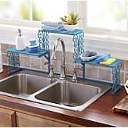 Tall Faucet Scroll Sink Shelf