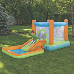 Airprotech Inflatable Bounce House Pool and Slide