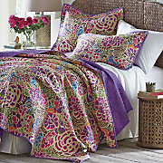 Jewel Garden Quilt and Sham