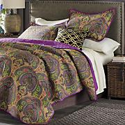 jewel crown paisley oversized quilt