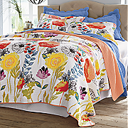 Watercolor Dream Oversized Quilt and Sham