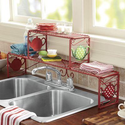 Teapot Over The Sink Shelf