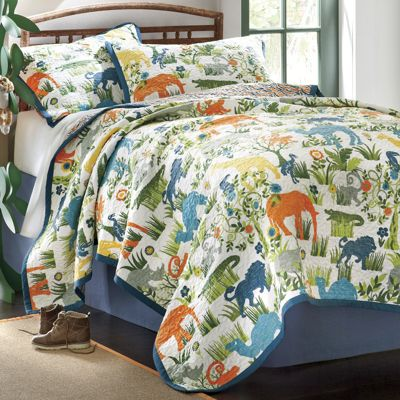 Safari Oversized Quilt and Sham