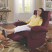 massaging recliner