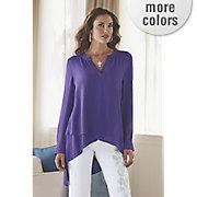 layered hem blouse 4