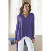 layered hem blouse 4