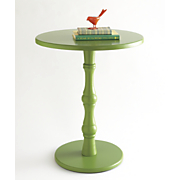 Green Accent Table