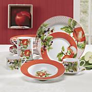 20-Piece Apple Dinnerware Set