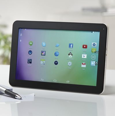 """10.1"""" Android Quad-Core Tablet with Google Play"""