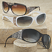 scroll side sunglasses